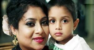 Shabnur & her son