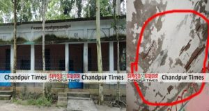 কচুয়ায় শংকরপুর মসজিদে ফাটল