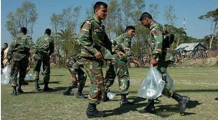 Army Inside Rohinga