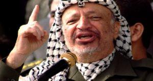 PLO chairman Yasser Arafat