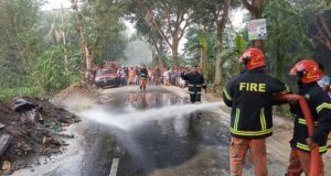 road accident fire service