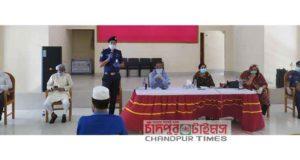 চাঁদপুর জেলা পুলিশের আলোচনা