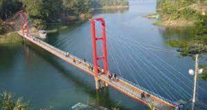 Hangging bridge ..